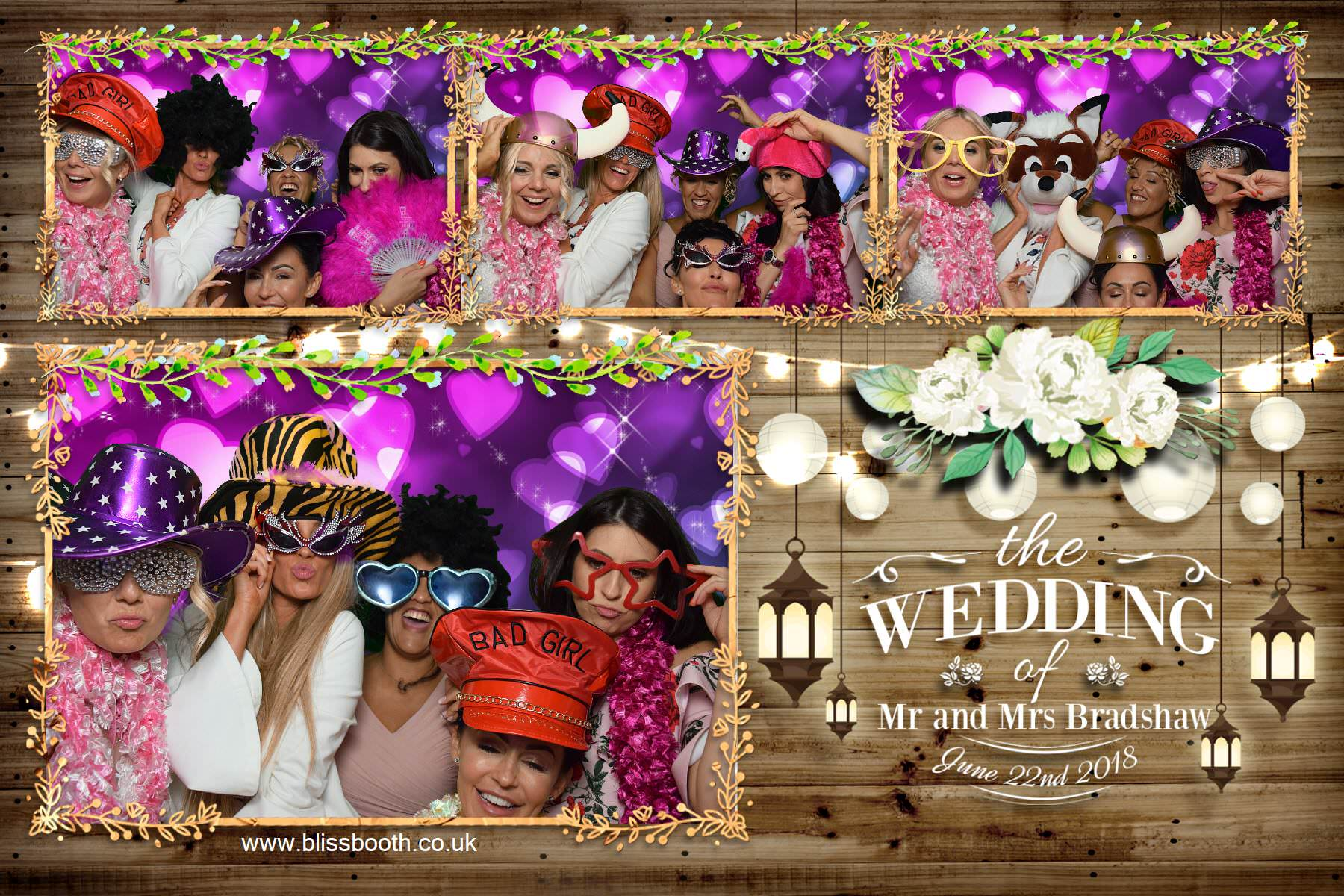 Mr and Mrs Bradshaw - The Priest House Derby - Photo Booth
