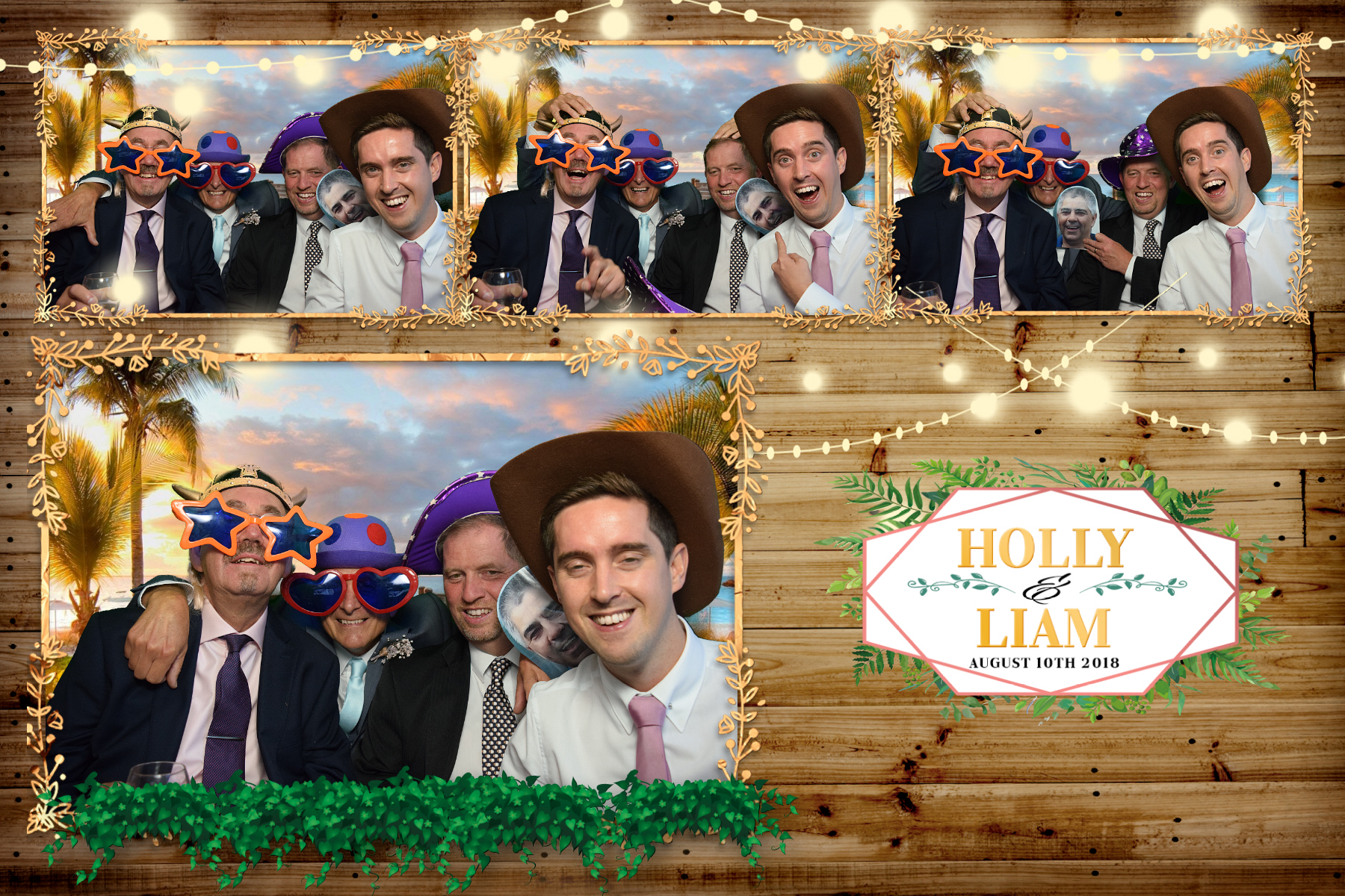 Holly and Liam - Whirlowbrook Hall Sheffield - Photo Booth