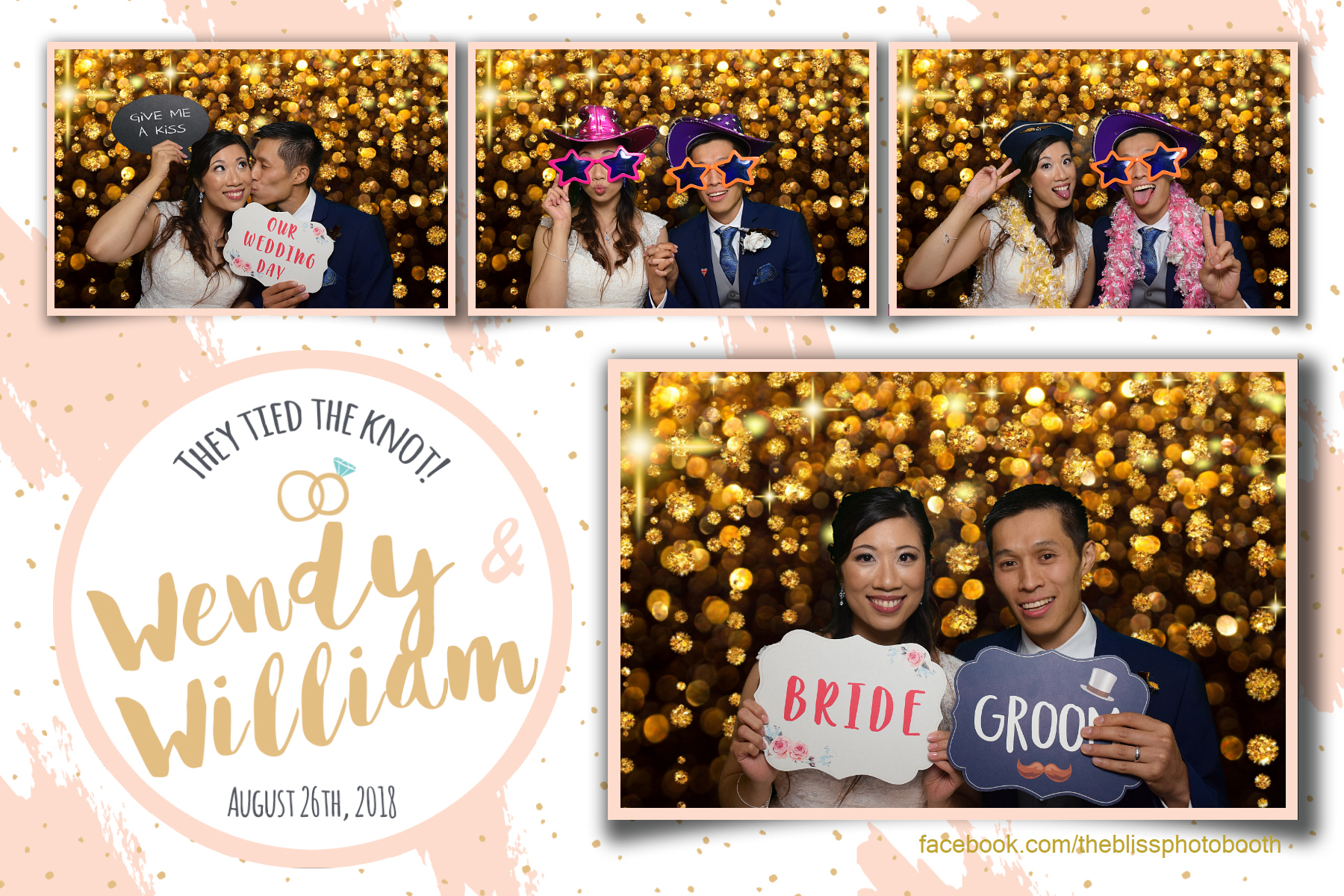 Wendy and William - Kenwood Hall Sheffield - Photo Booth