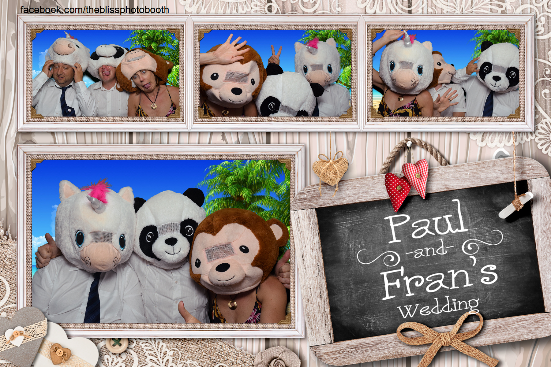 Paul and Fran - DoubleTree by Hilton Sheffield - Photo Booth