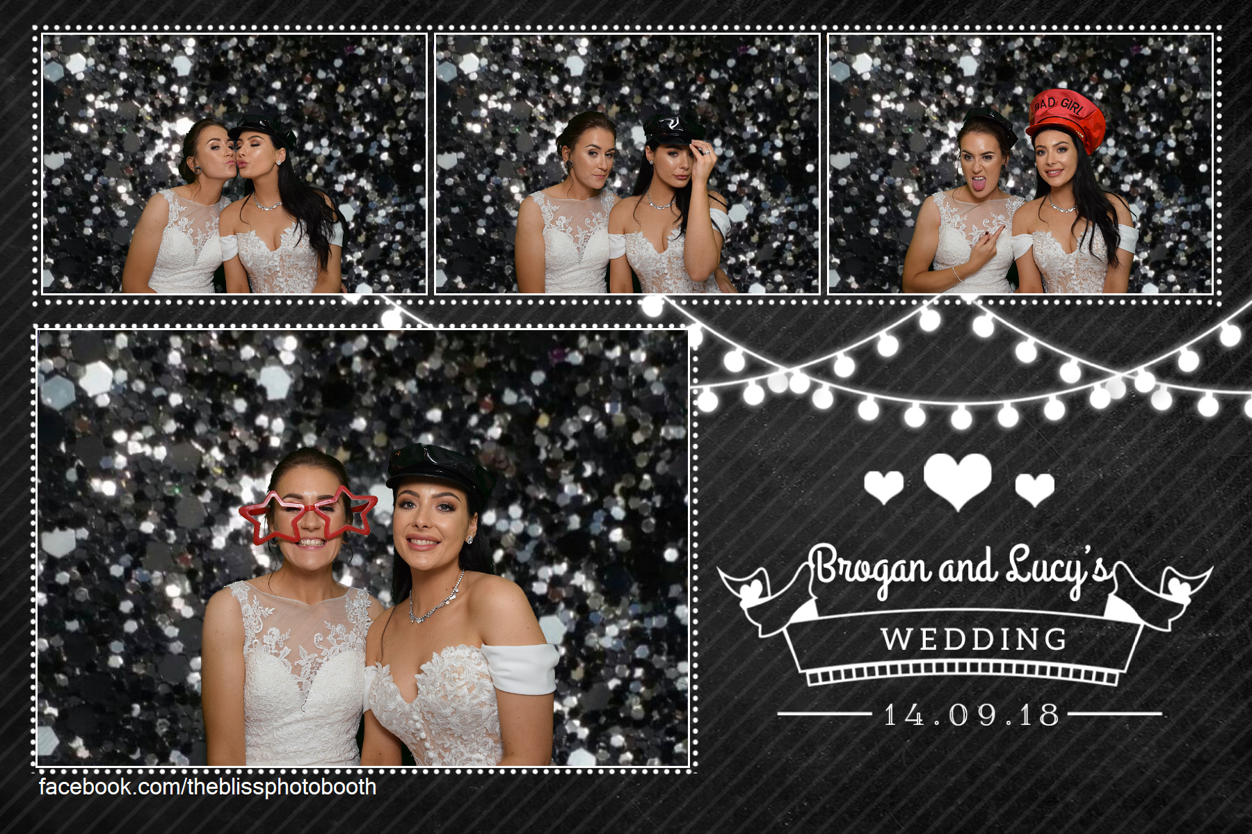 Brogan & Lucy - Kenwood Hall Sheffield - Photo Booth