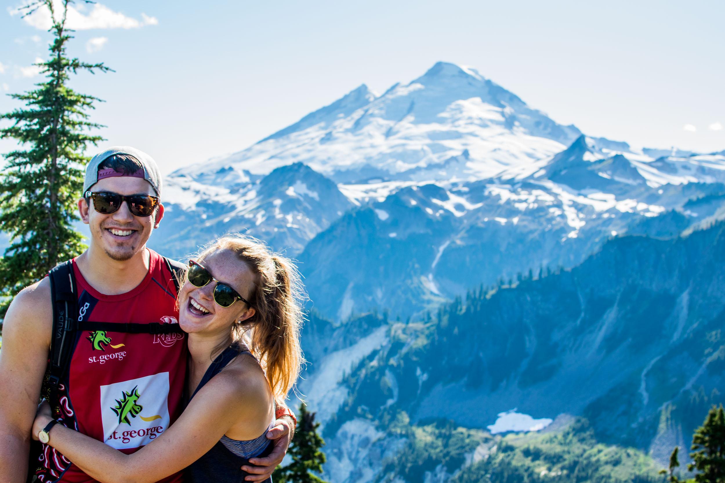 Ellie & Ciaran, Mount Baker. 2017