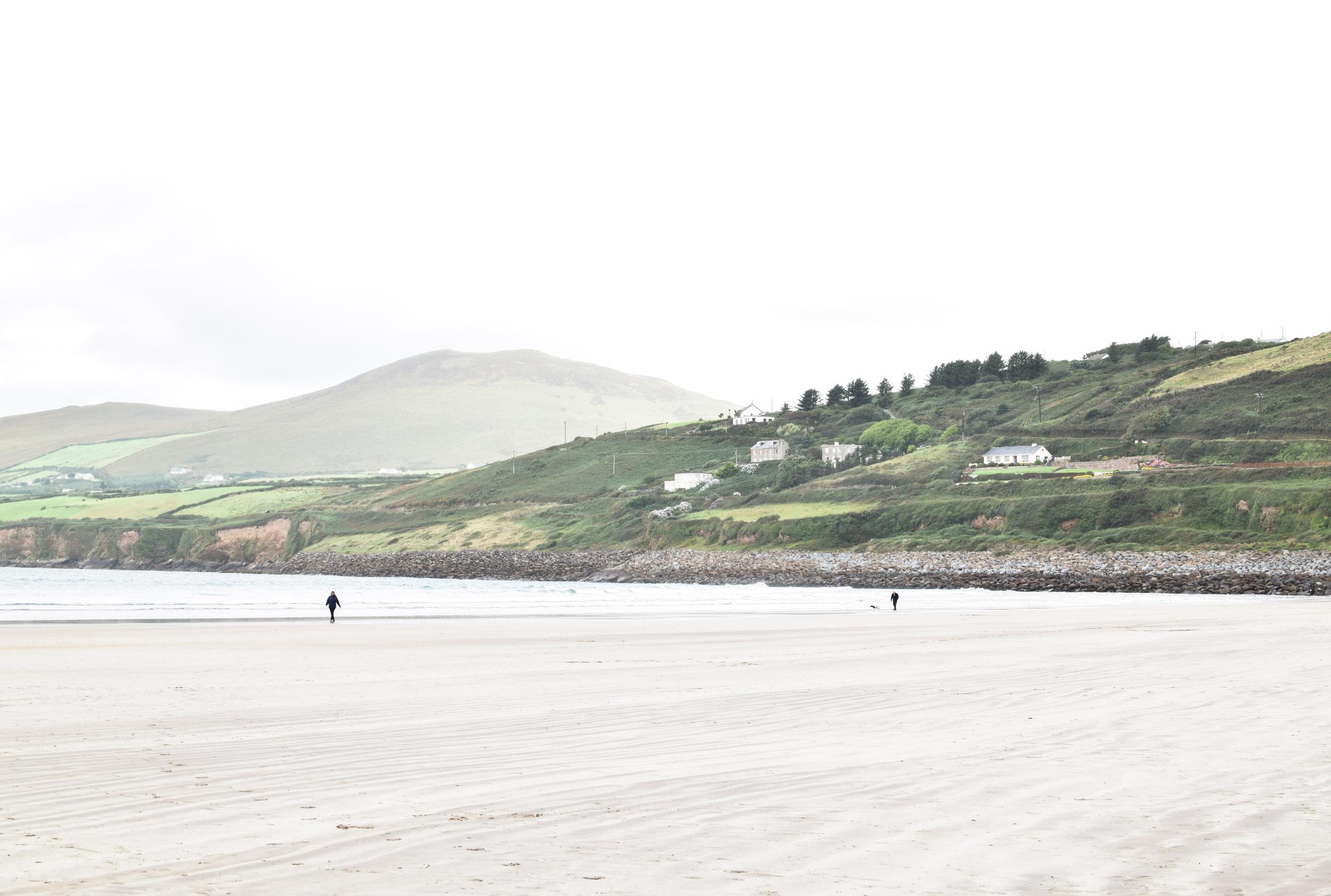 Inch Beach, County Kerry, Ireland. Part of the Dingle Peninsula, near Killarney.