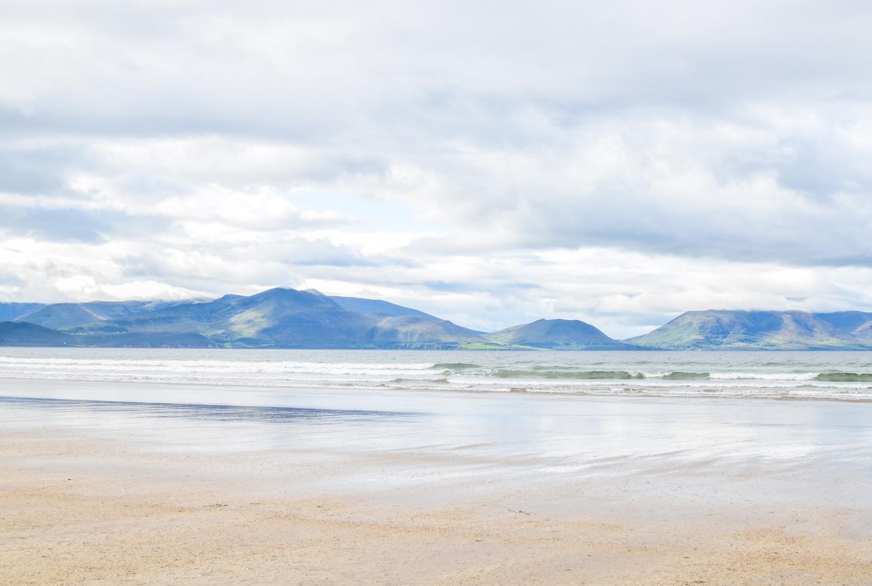 Inch Beach, County Kerry, Ireland. A stop on Slea Head Drive on the Dignle Peninsula.