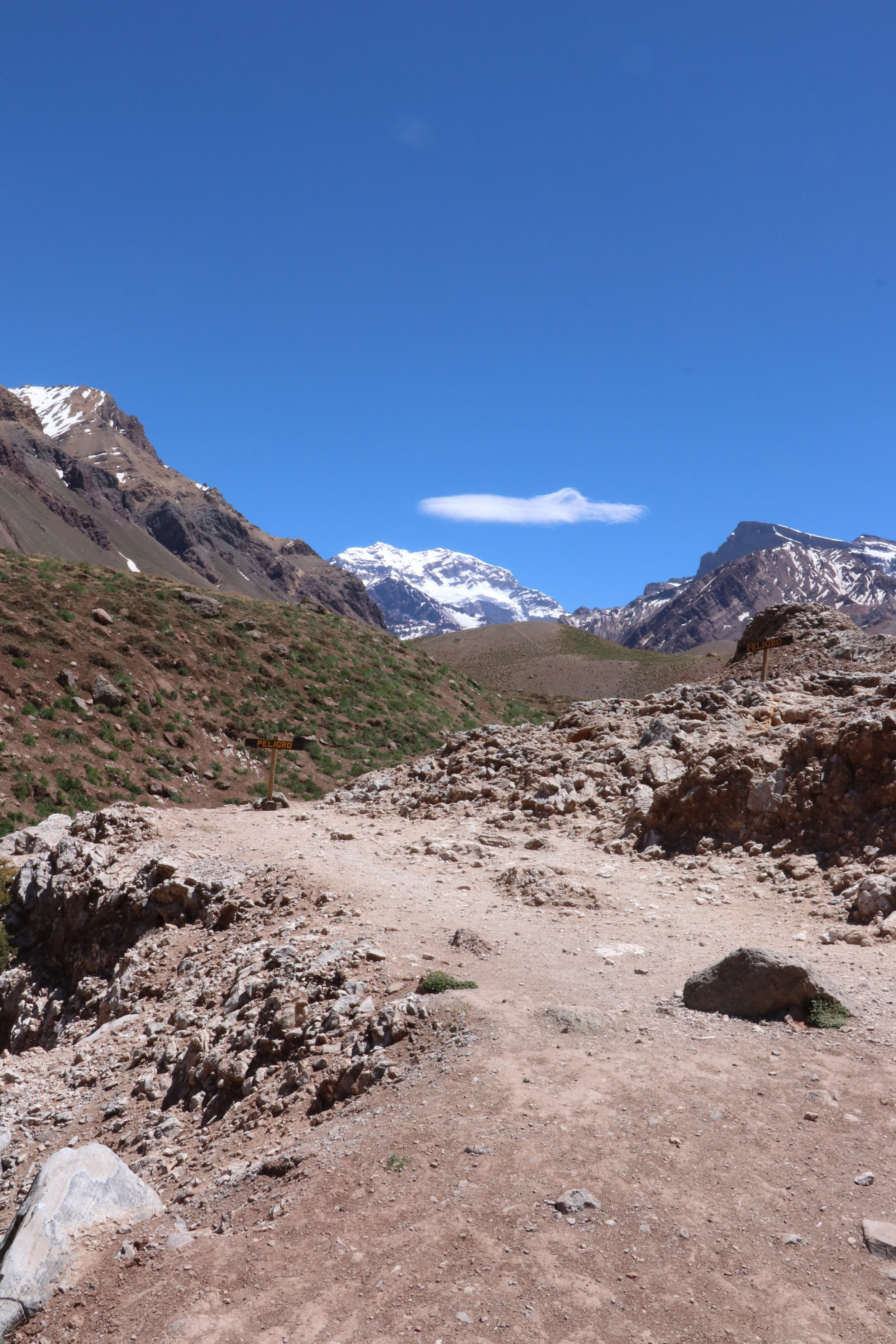 Acongagua, South America's tallest peak