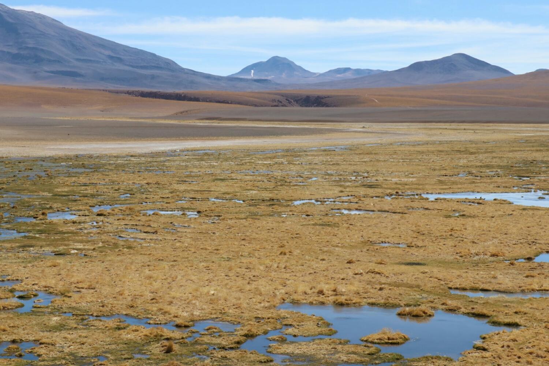 Bolivia on the horizon