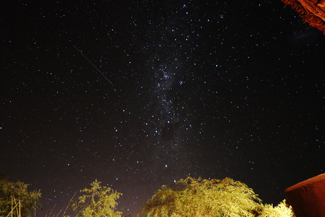 The Southern Cross. In there somewhere