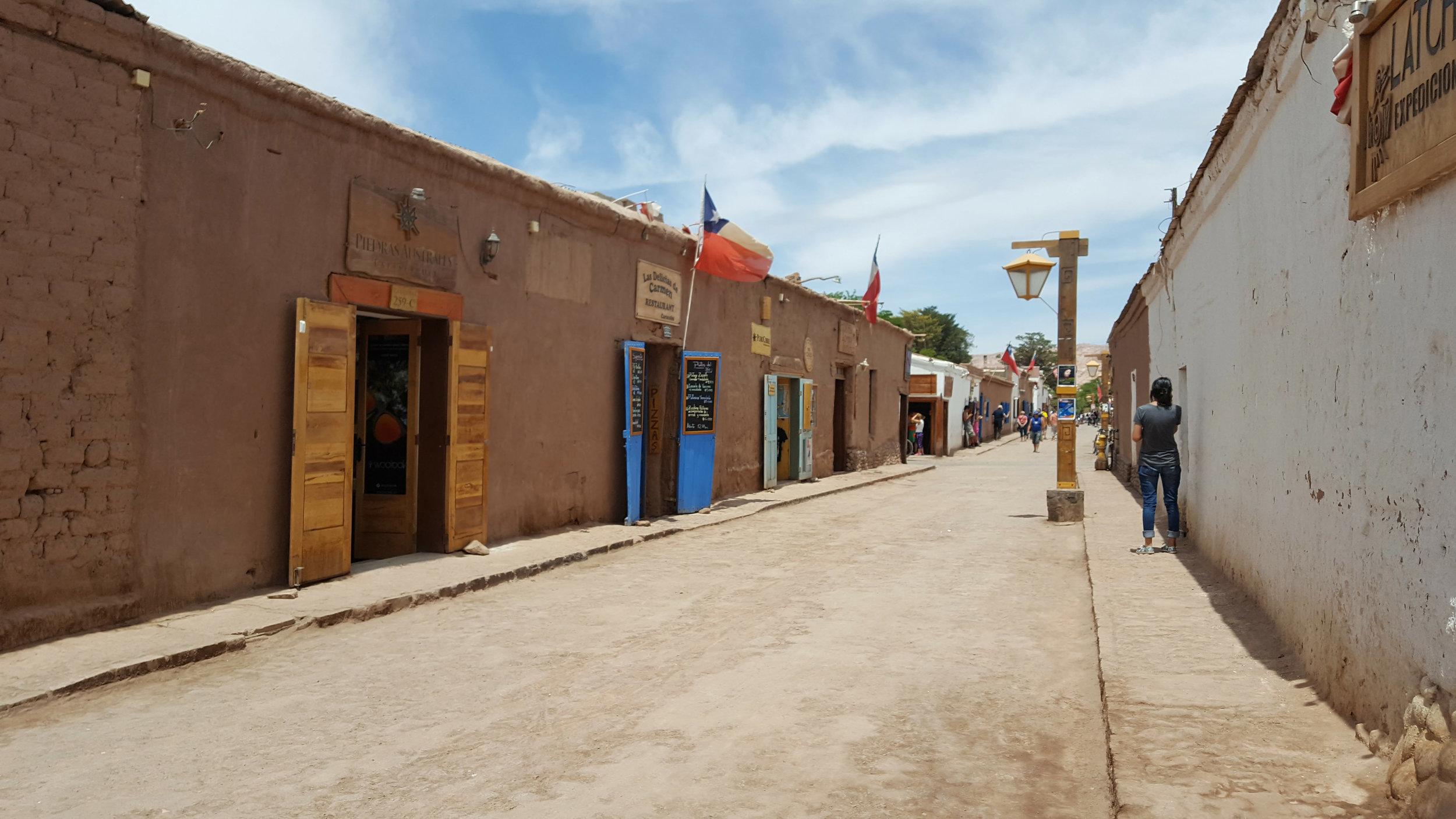 The metropolis of San Pedro de Atacama