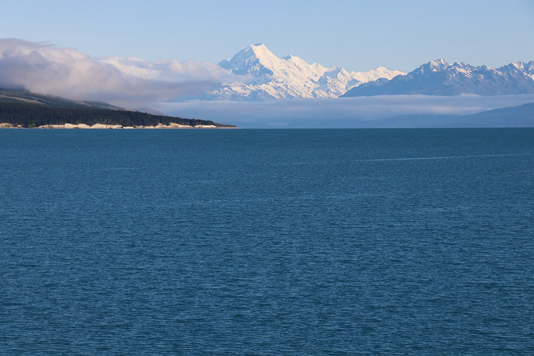 Mount Cook, giving it some