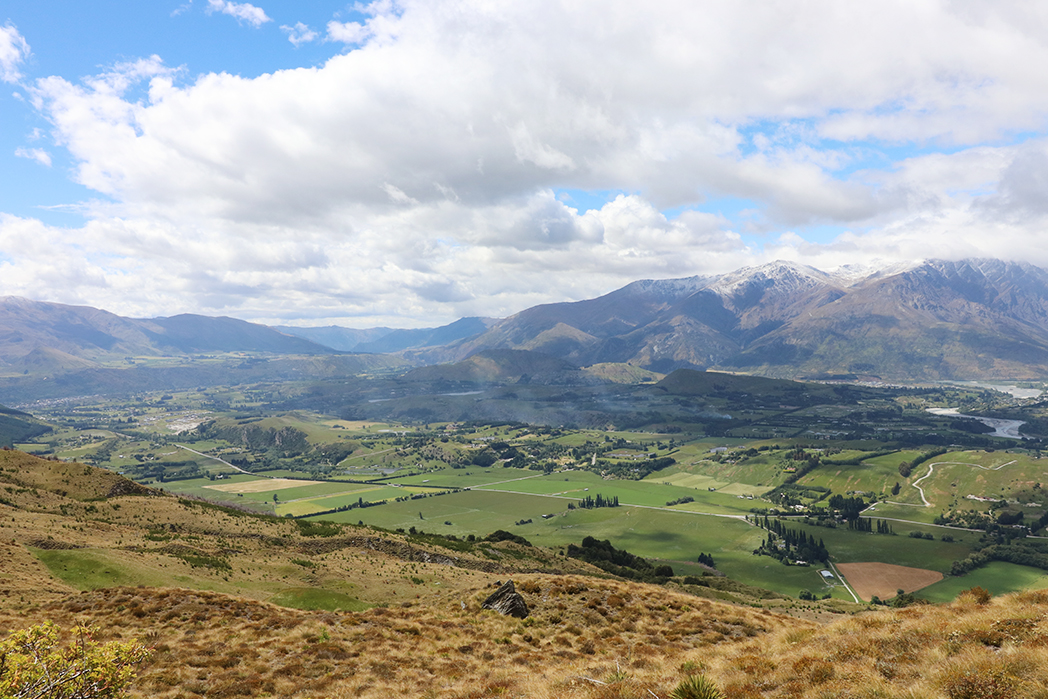 The view from Coronet Peak