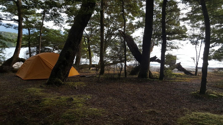 Brod Bay campsite