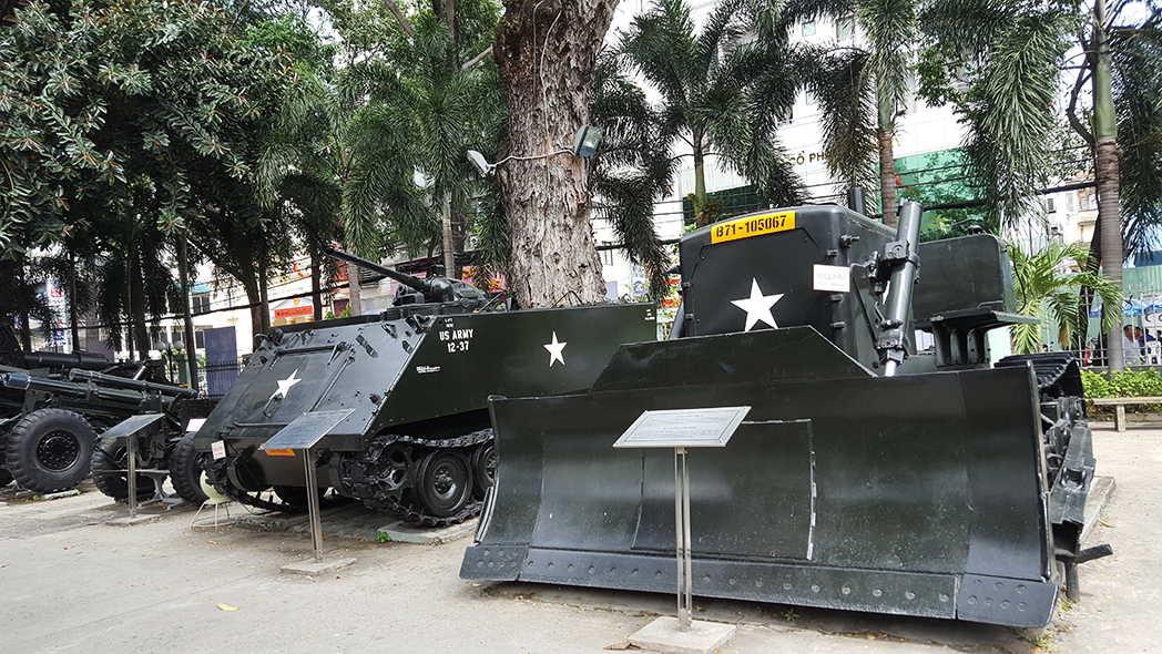 Captured US armour