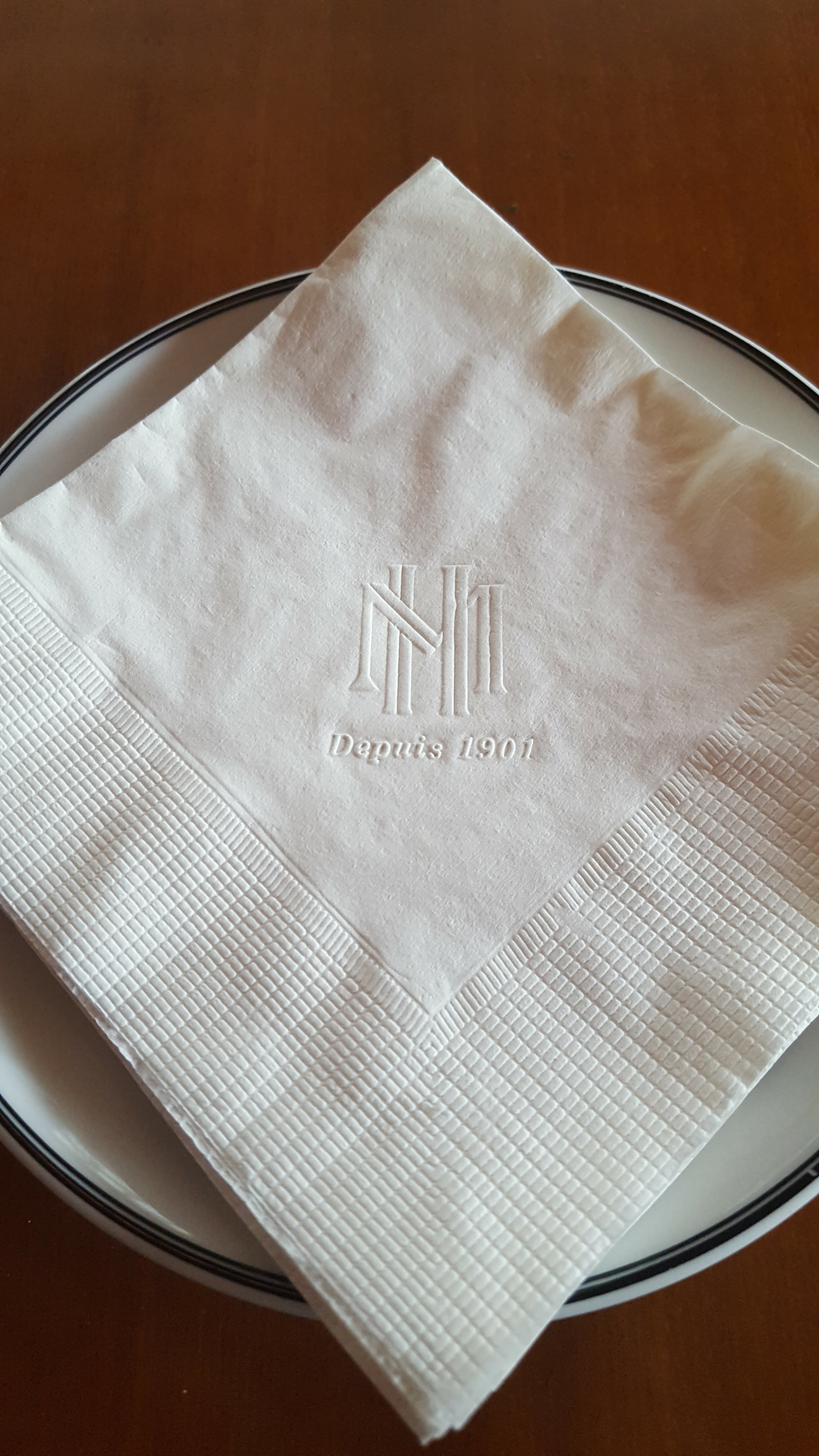 The Metrople. You know you've made it when you've got your own branded napkin