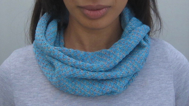 HARRIS • cotton short cowl