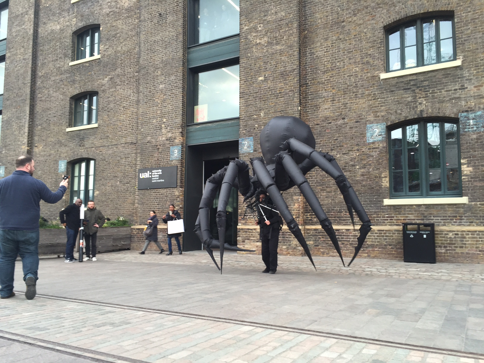 Giant Spider in Granary Square