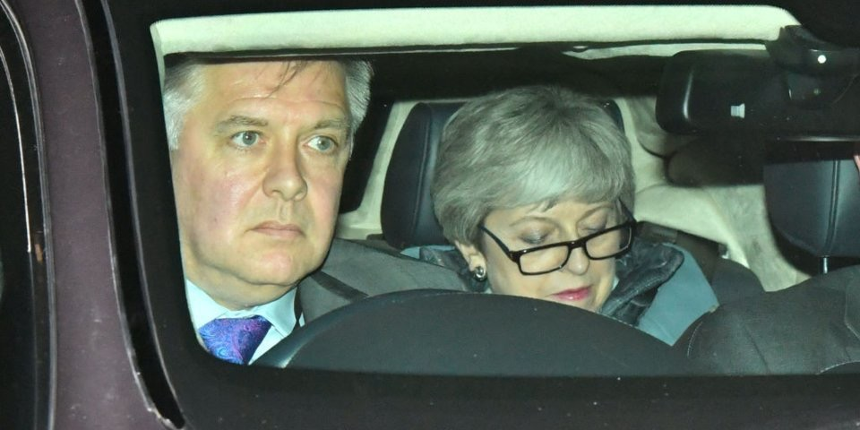 Taxi for Theresa?