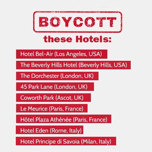 Ellen DeGeneres tweeted this image calling for a boycott.