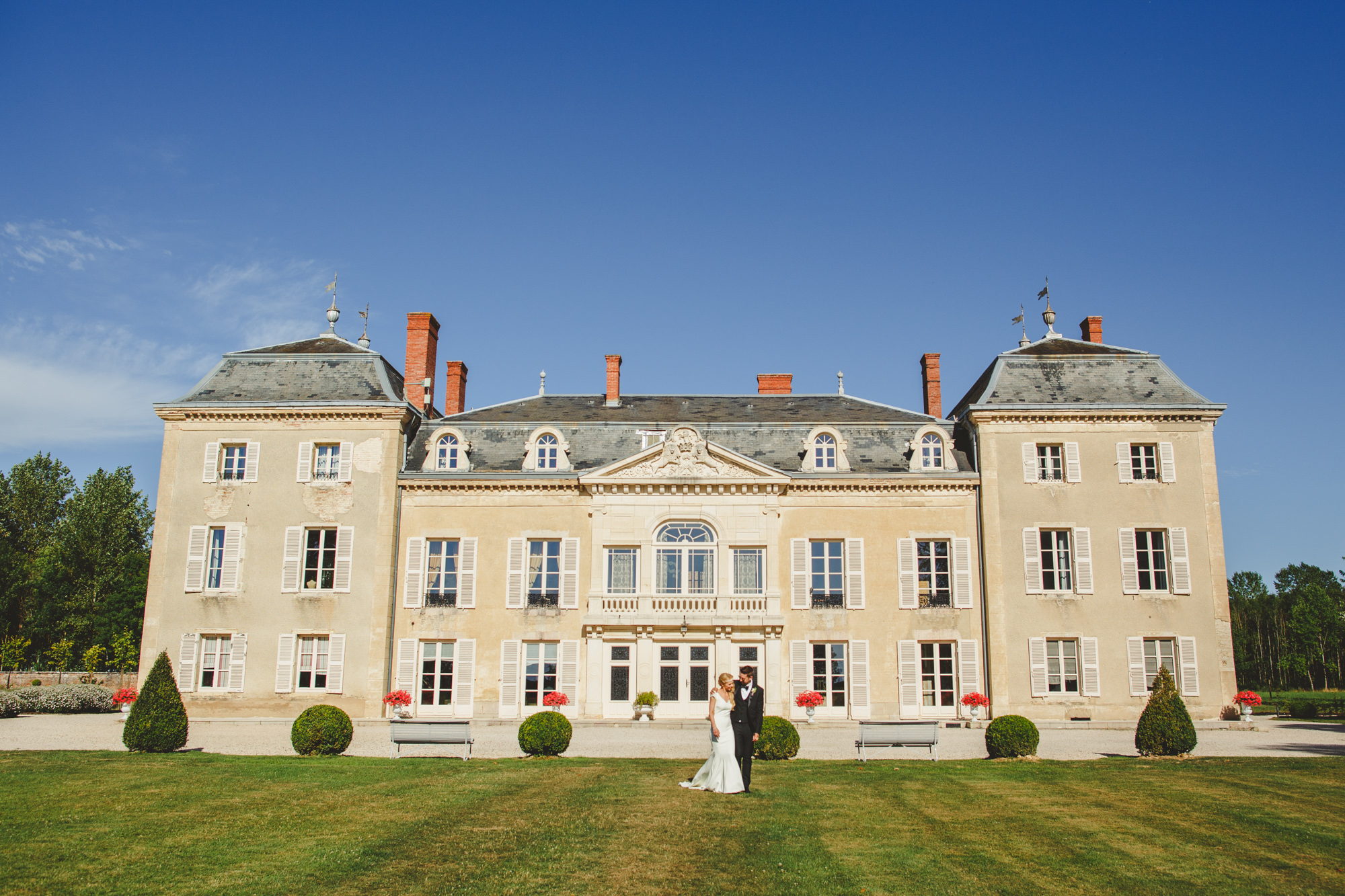 chateau destination wedding photo
