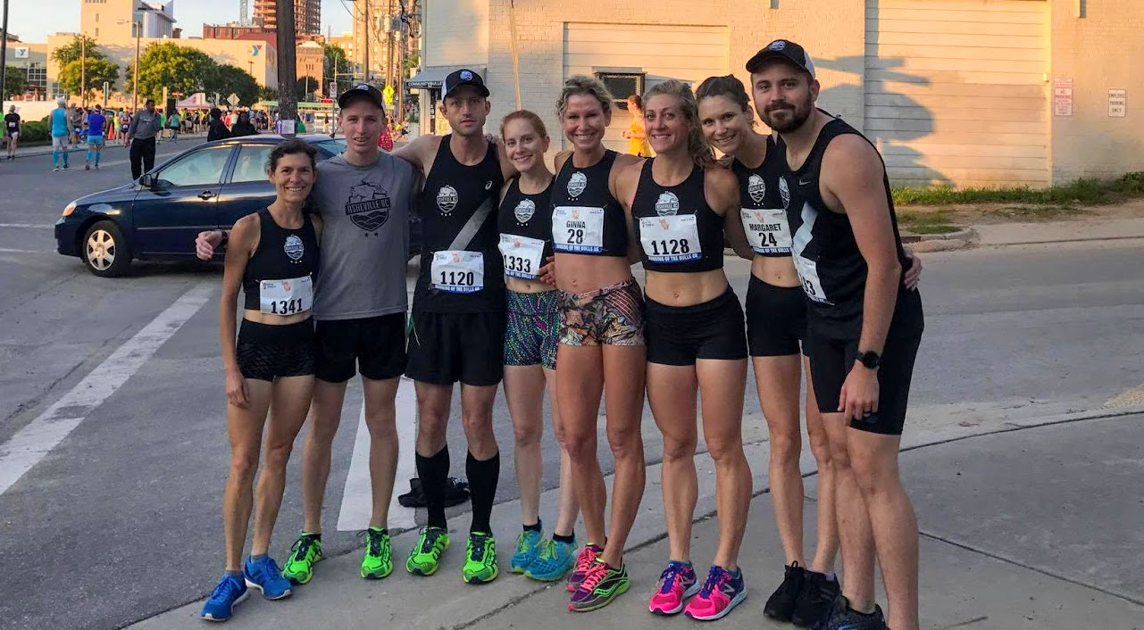 The ARC crew at the Running of the Bulls 8k