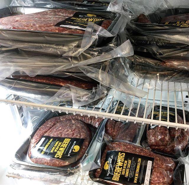 Fresh Boerewors is in stock! #boerewors #boereworsroll