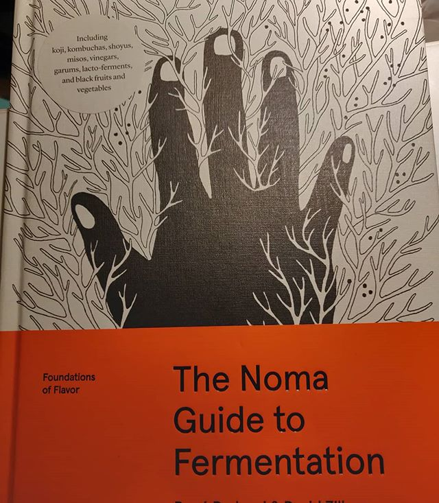 Ohhhhh my, what a wonderful #book!! From #Noma,  the Danish restaurant responsible for changing so many minds about food and flavors, a wonderful guide to how they #preserve seasonal foods through #fermentation. #umami