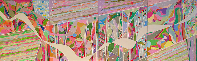 Echo Of Seasons. 30%22 x 96%22. Acrylic on canvas.jpeg