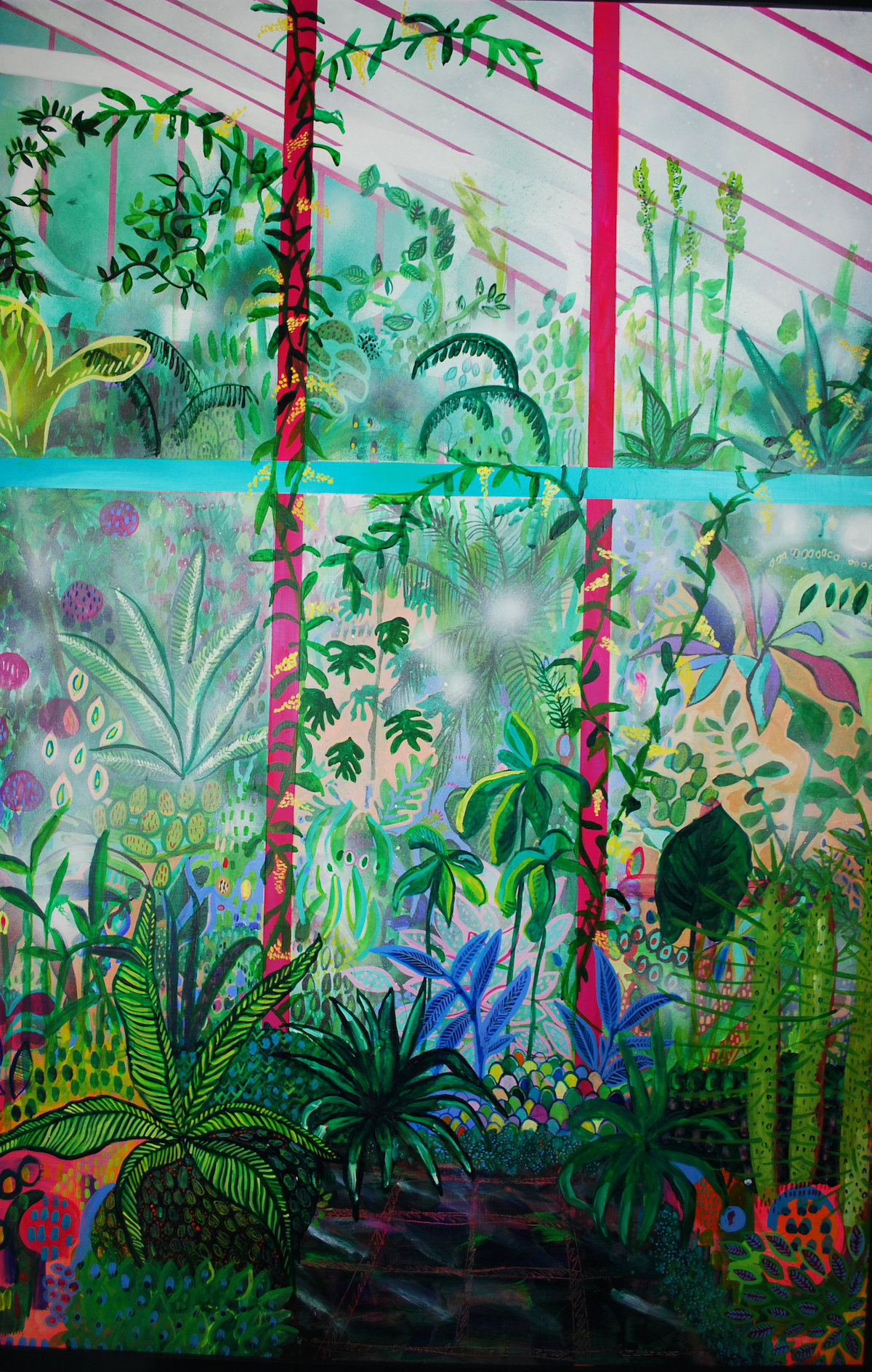 'Herbaceous Hot House 3'  Grace Green .jpg