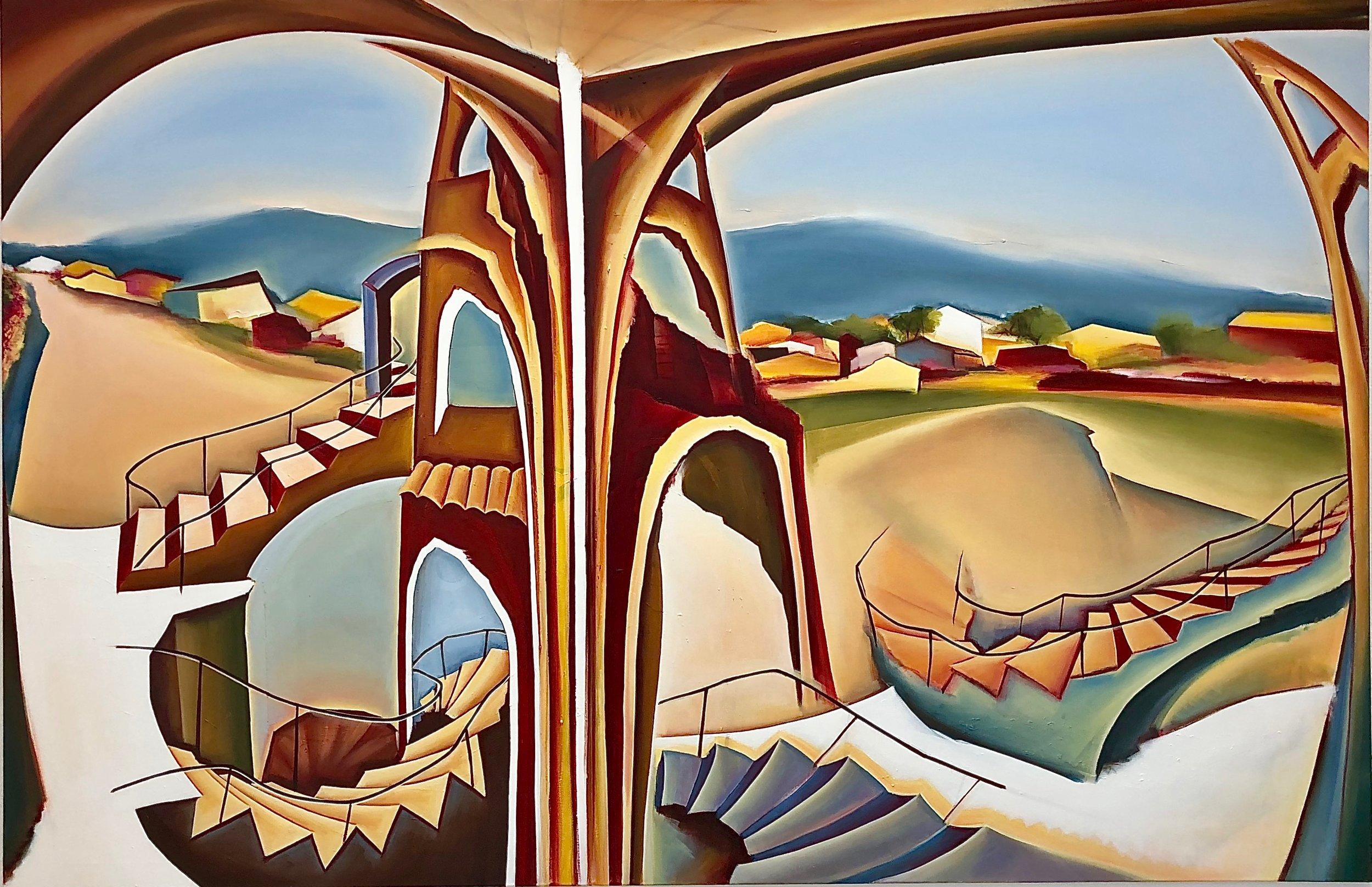 1. Unsentimental journey, Oil on canvas, 130 x 200 cm.jpg