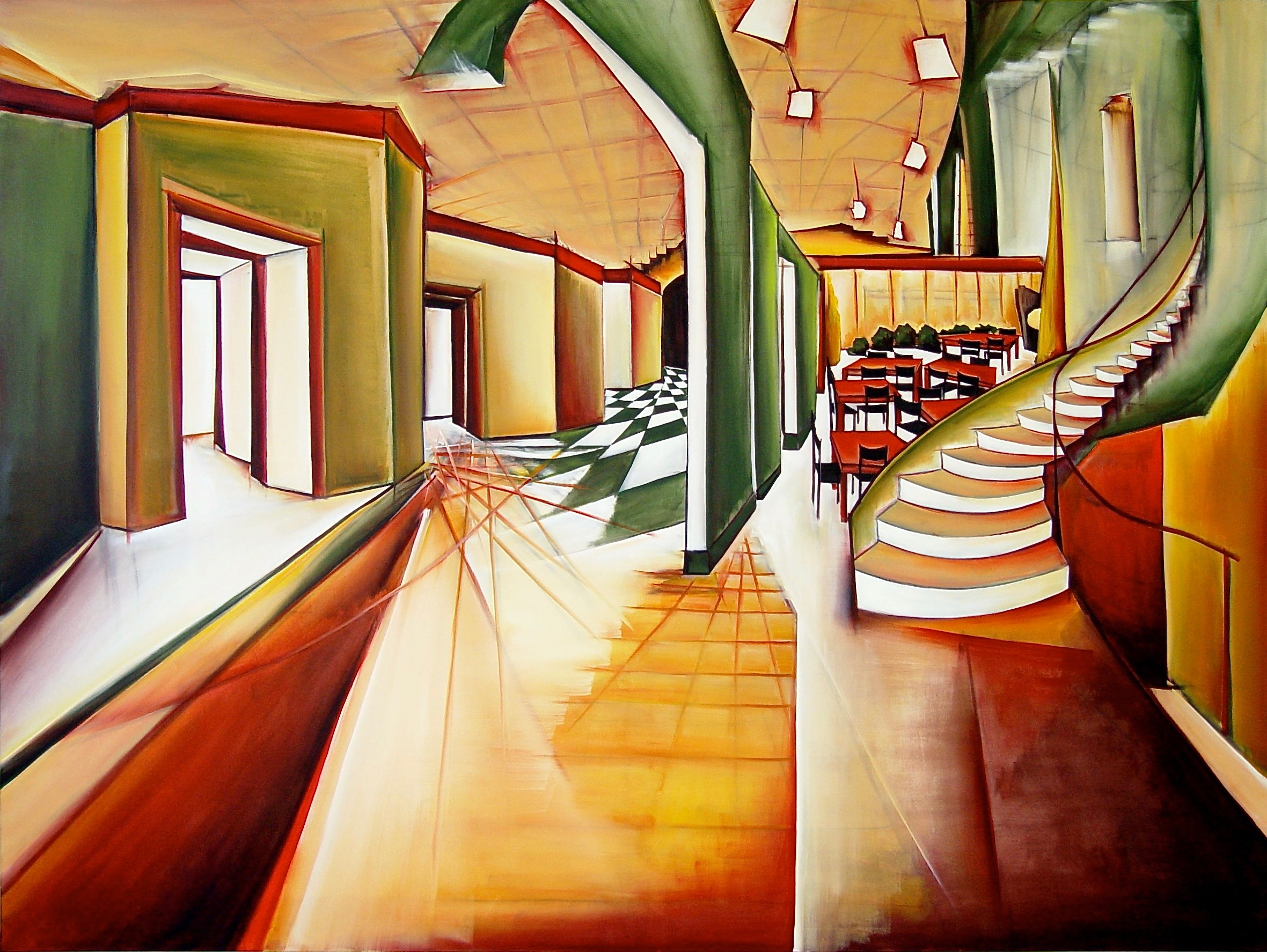 2. Theater room, Oil on canvas, 150 x 200 cm.jpg