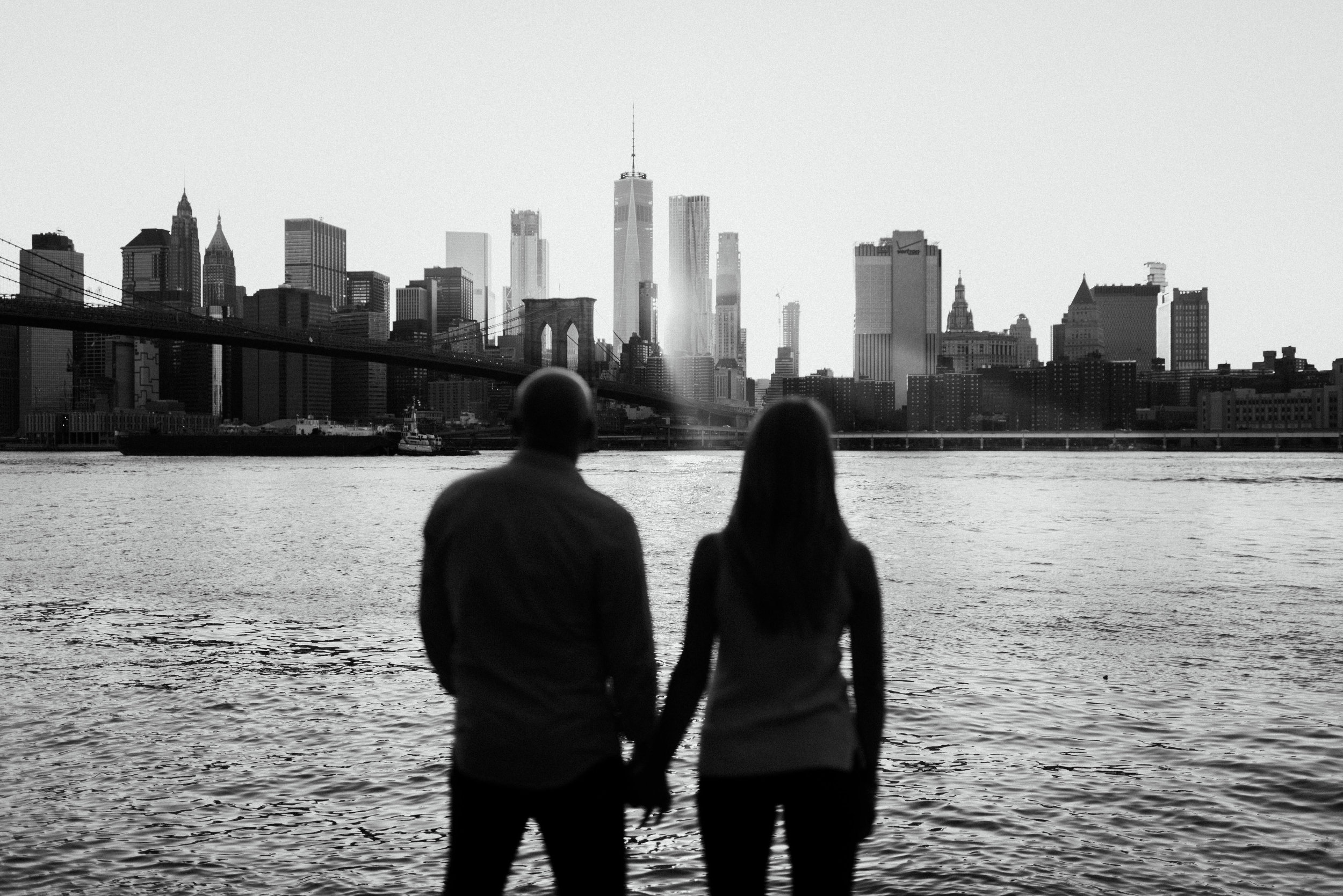 Steve + Erin live IN Manhattan… so this was an obvious decision.
