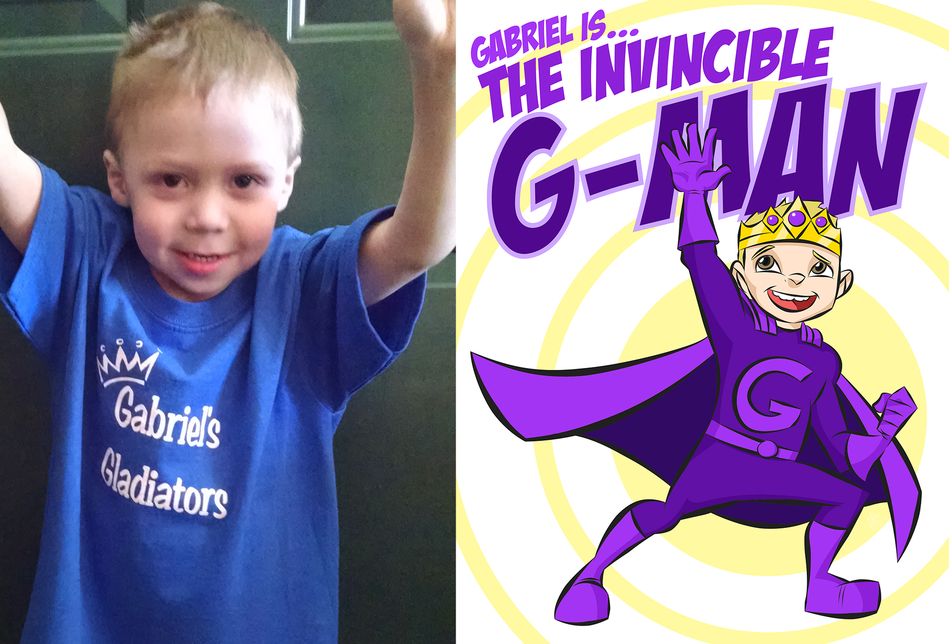 Gabriel (The Invincible G-MAN)