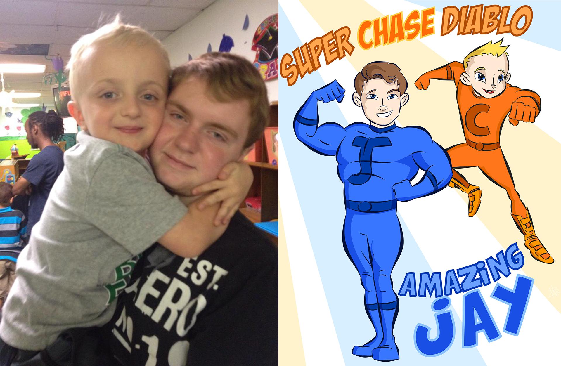 Jason & Chase (Amazing Jay & Super Chase Diablo)
