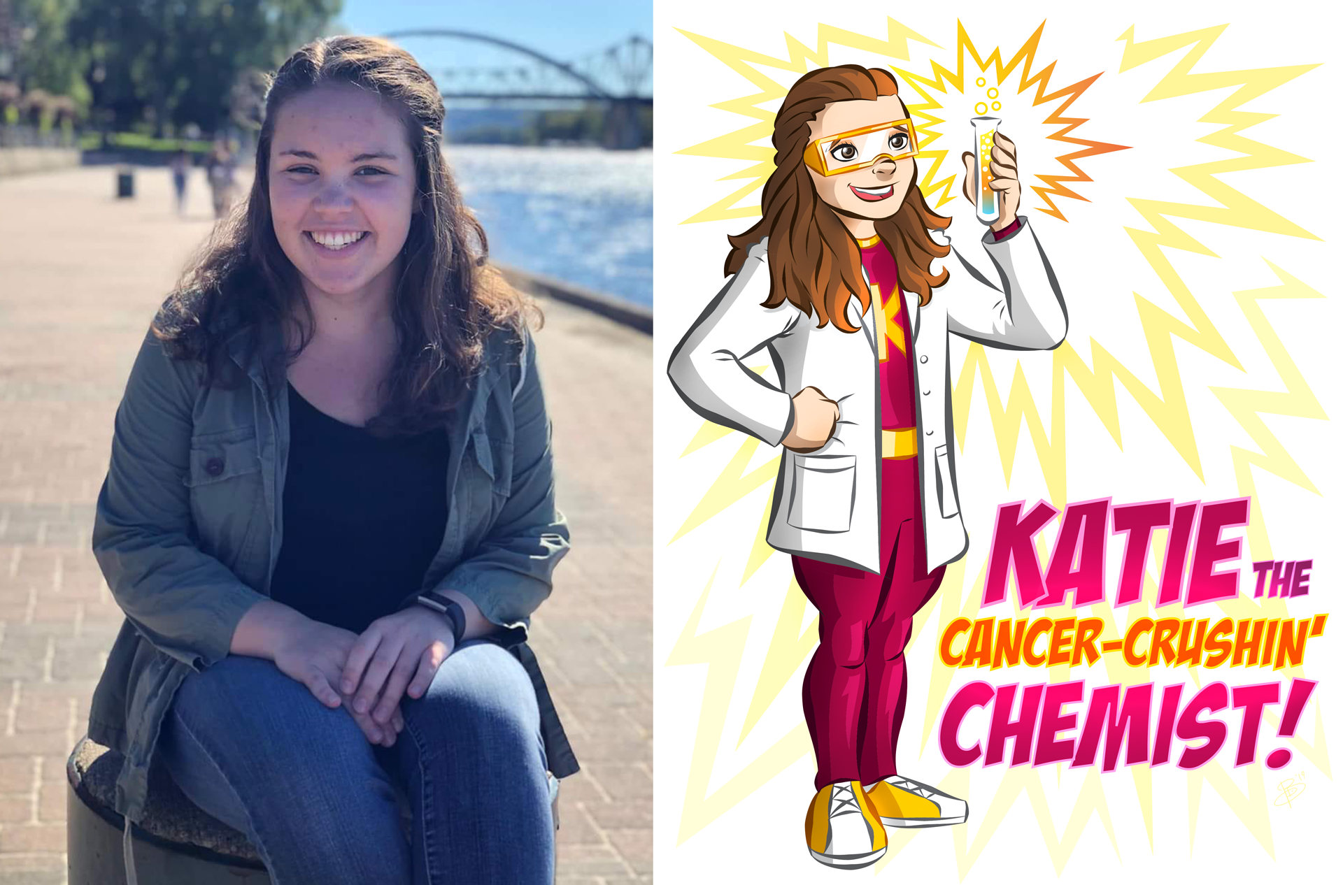 Katie (The Cancer-Crushin' Chemist)
