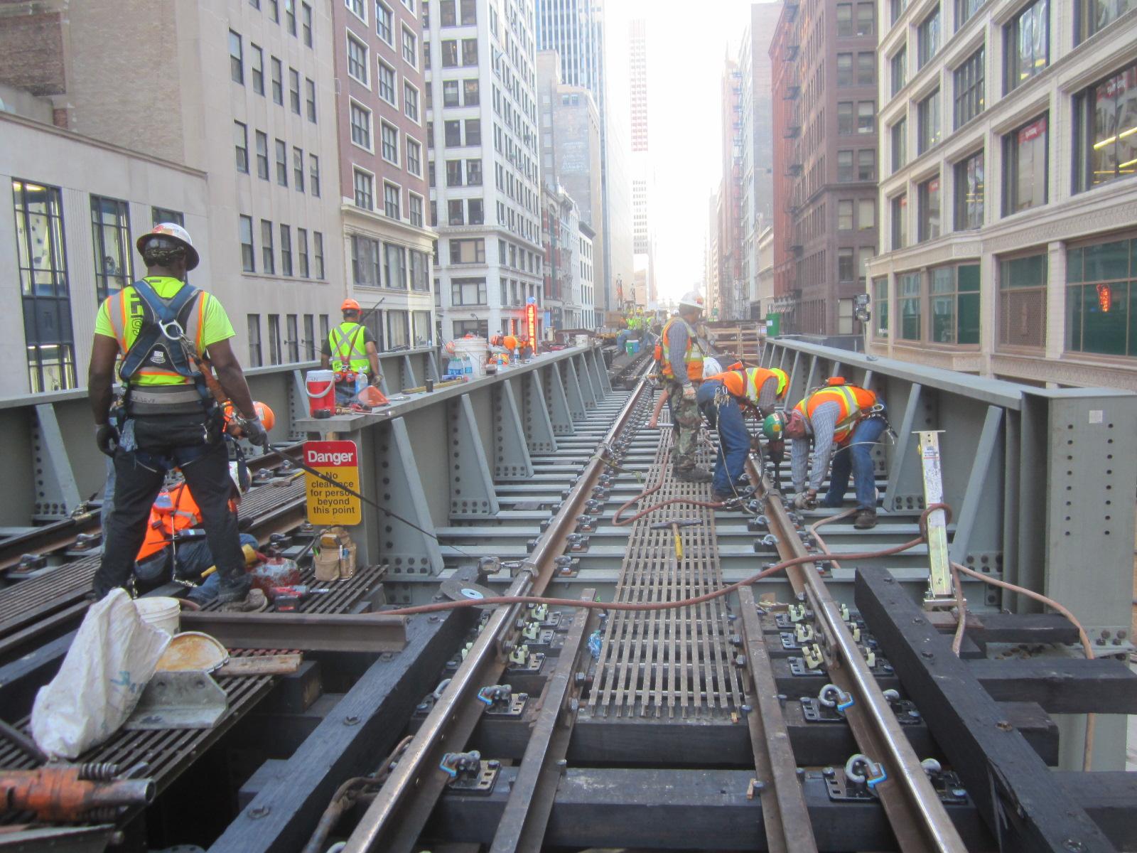 Rail allignment