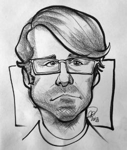 A classmate's caricature of me