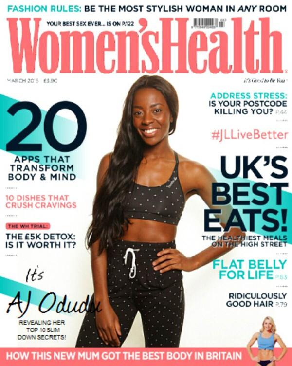 Women's Health AJ Odudu