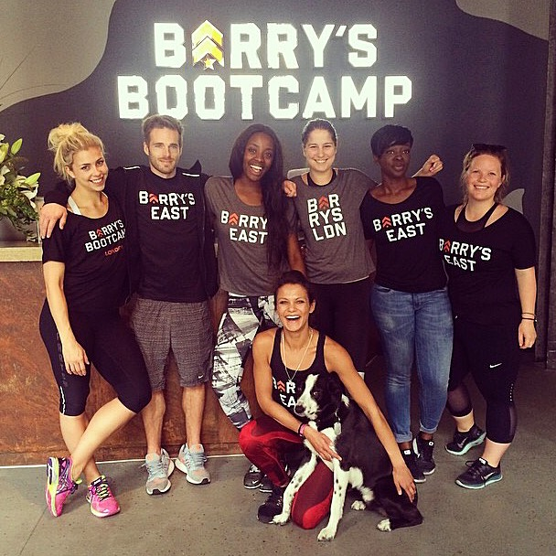 Barry's Bootcamp East London AJ Odudu