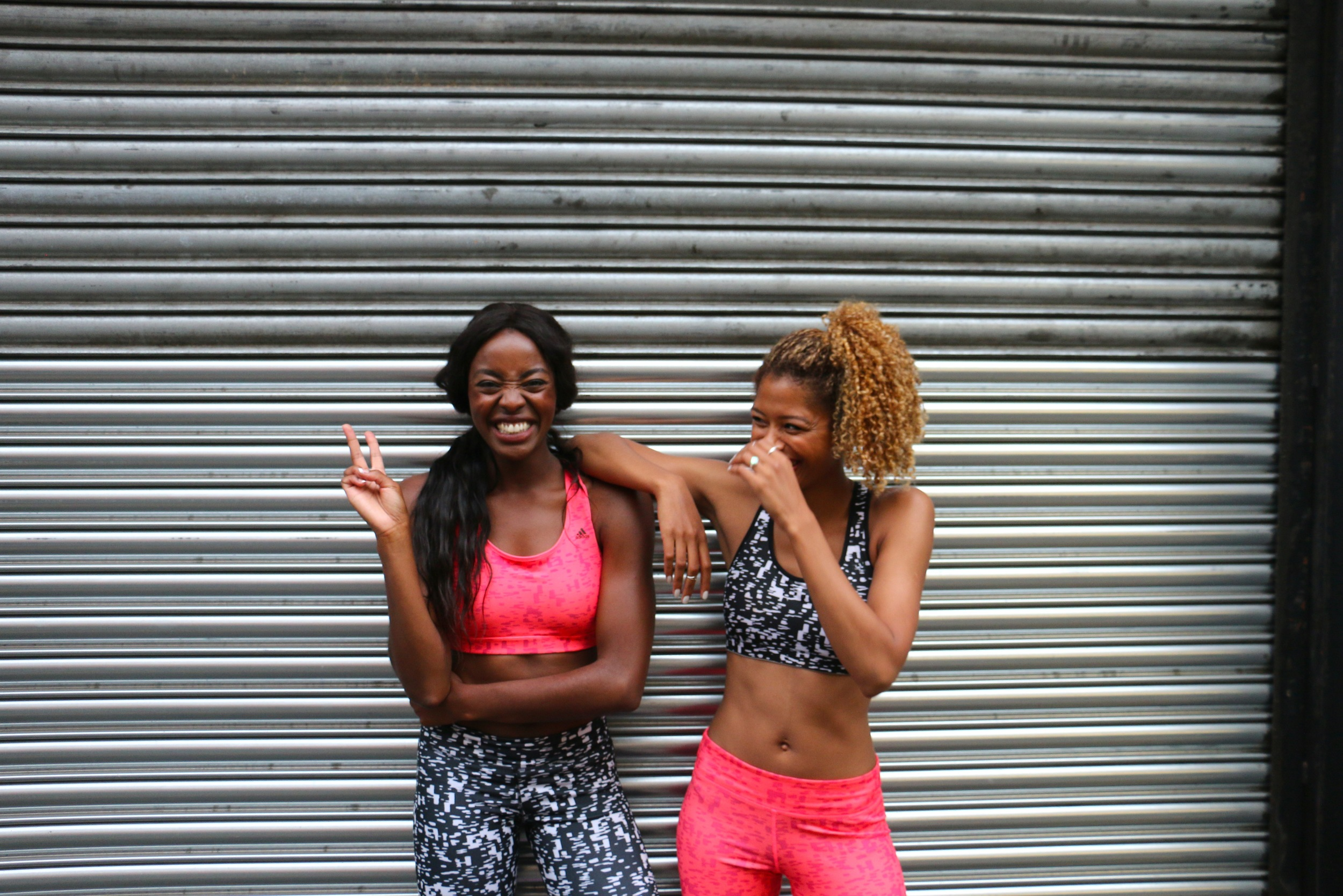 workout with Tasha Green