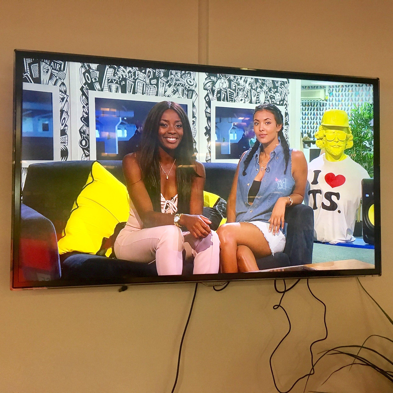4Music Maya Jama & AJ Odudu