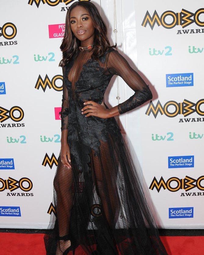 AJ Odudu MOBO Awards 2016