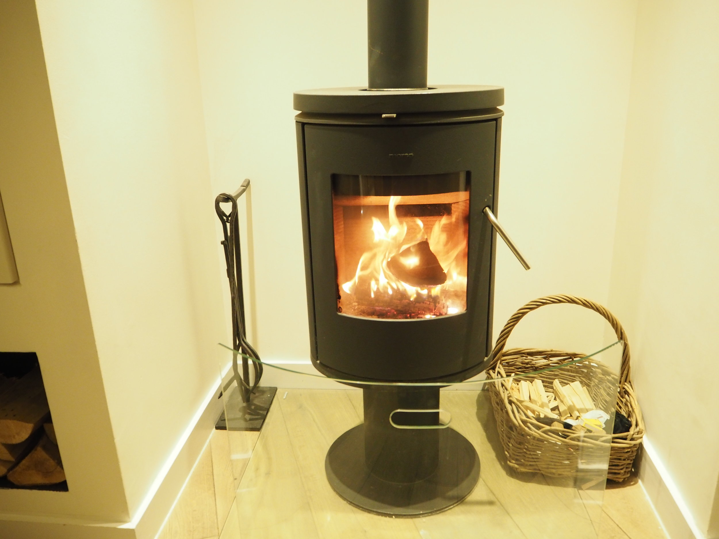 Open Fireplace Chewton Luxury Hotel