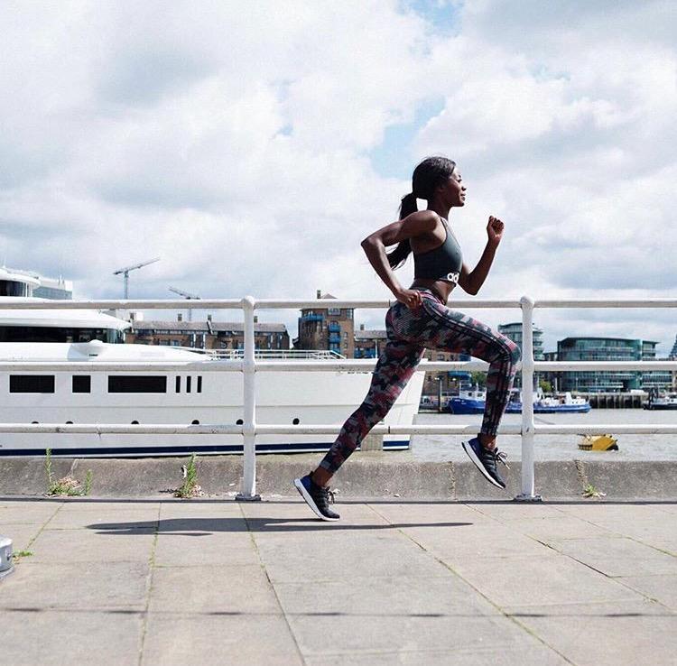 AJ Odudu London Marathon