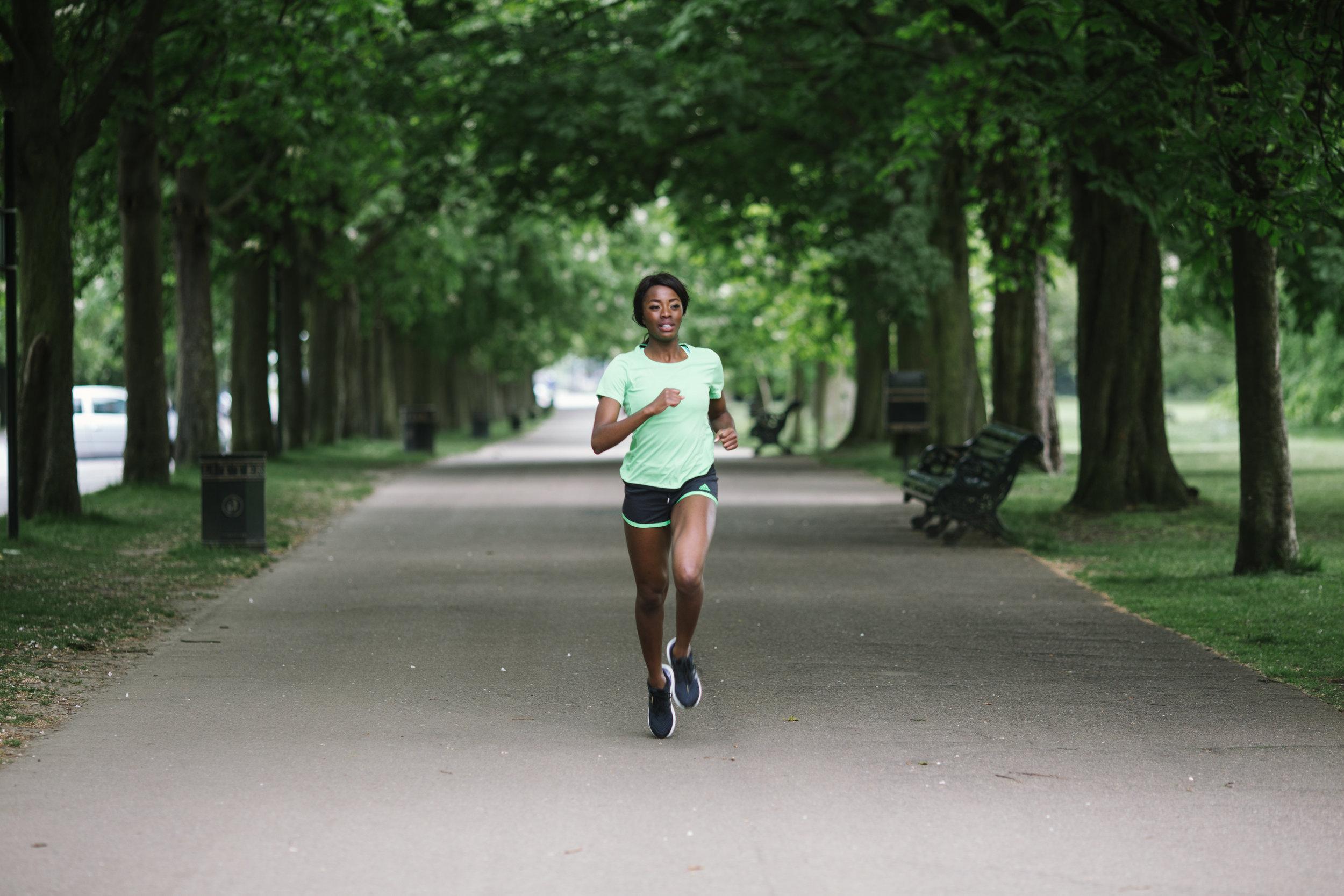 Greenwich Park London Marathon 2017