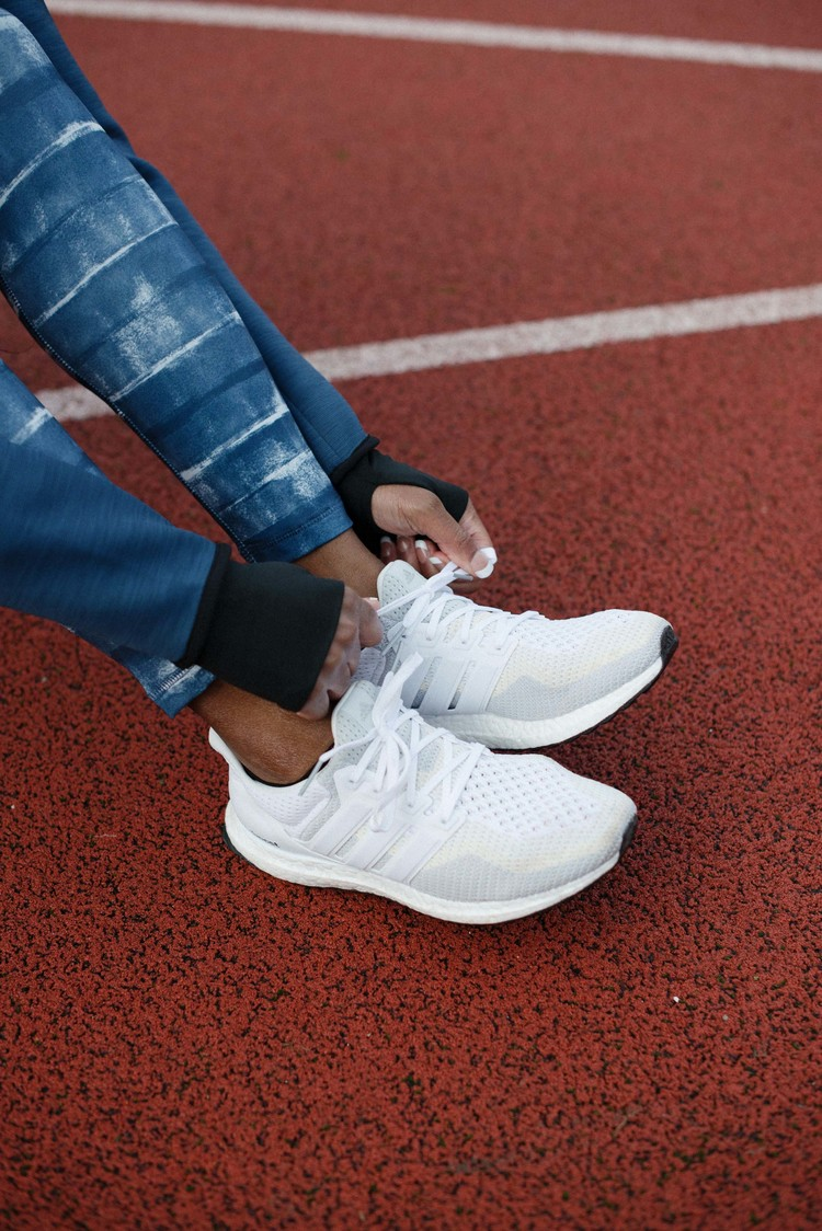 white adidas boost