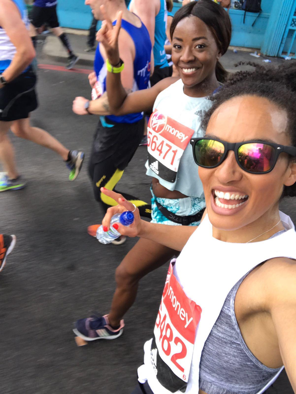 London Marathon Adrienne LDN