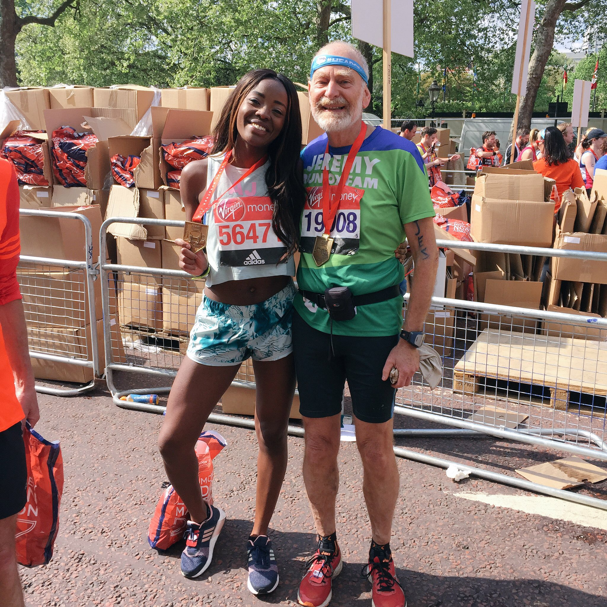 Virgin Money London Marathon 2017