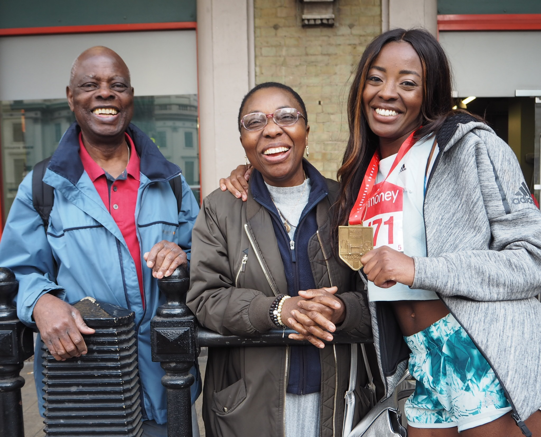 London Marathon Family and Friend support