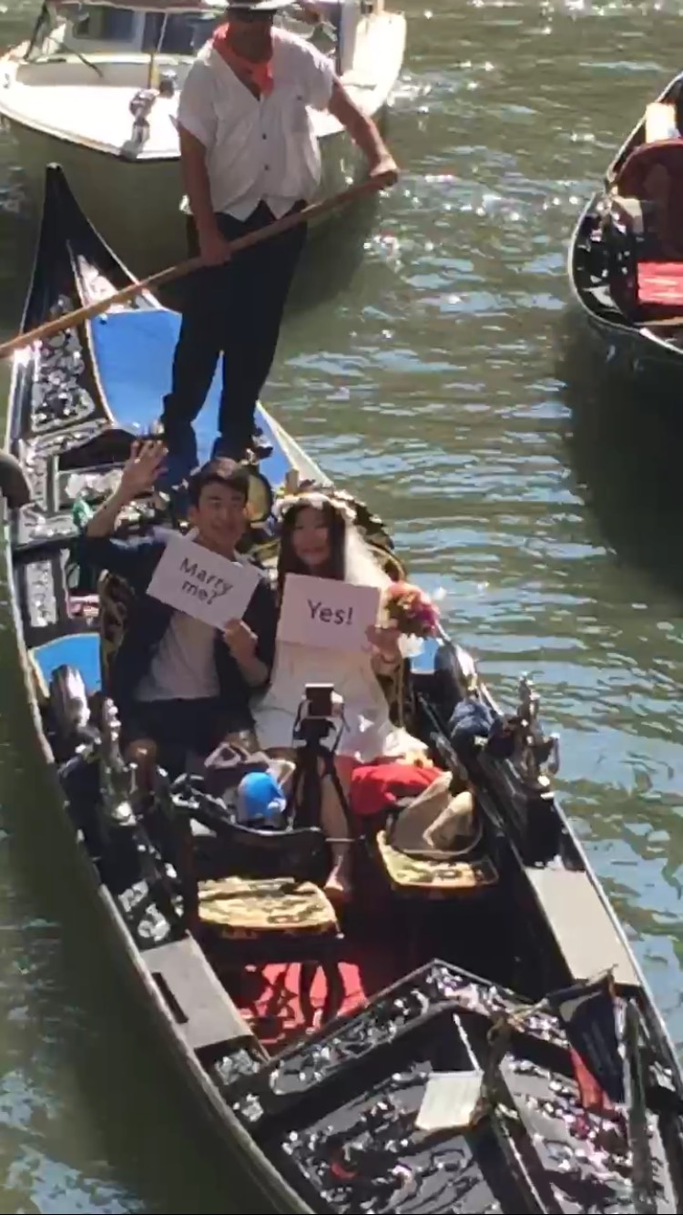 venice marriage proposal