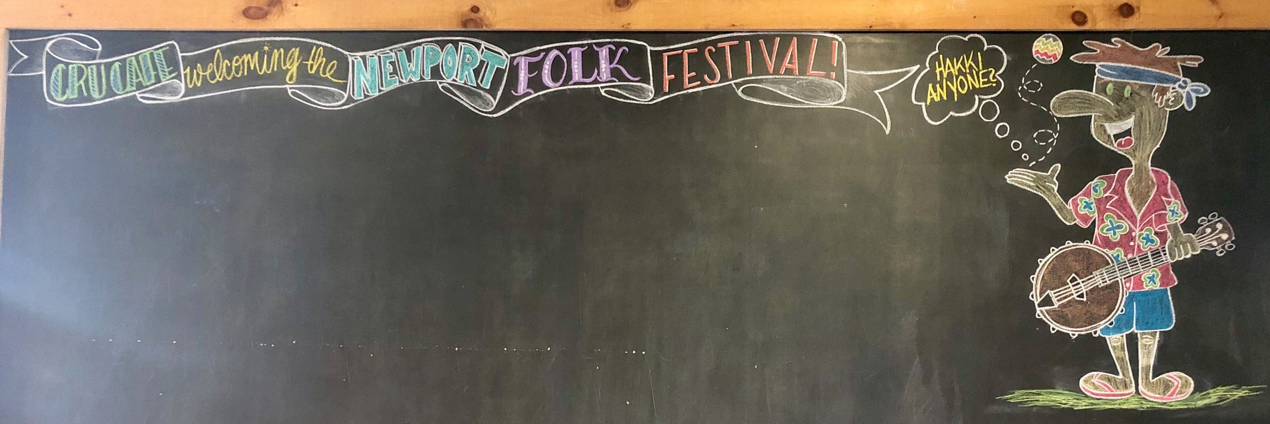 Ready for Folk Fest weekend!
