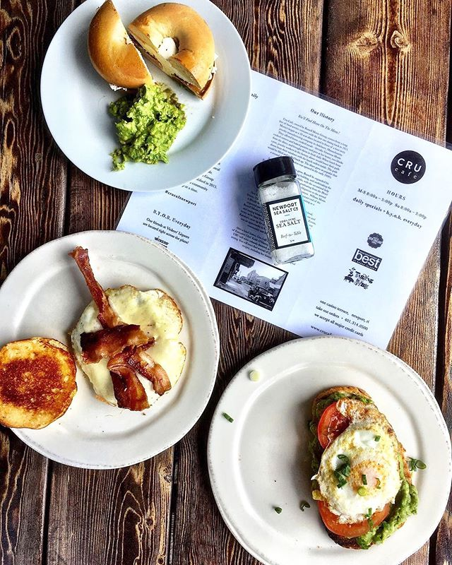 Beautiful breakfast photo taken by the amazing @newportseasalt ! Life has been grand since we invited you to our tables! 🙌🏼